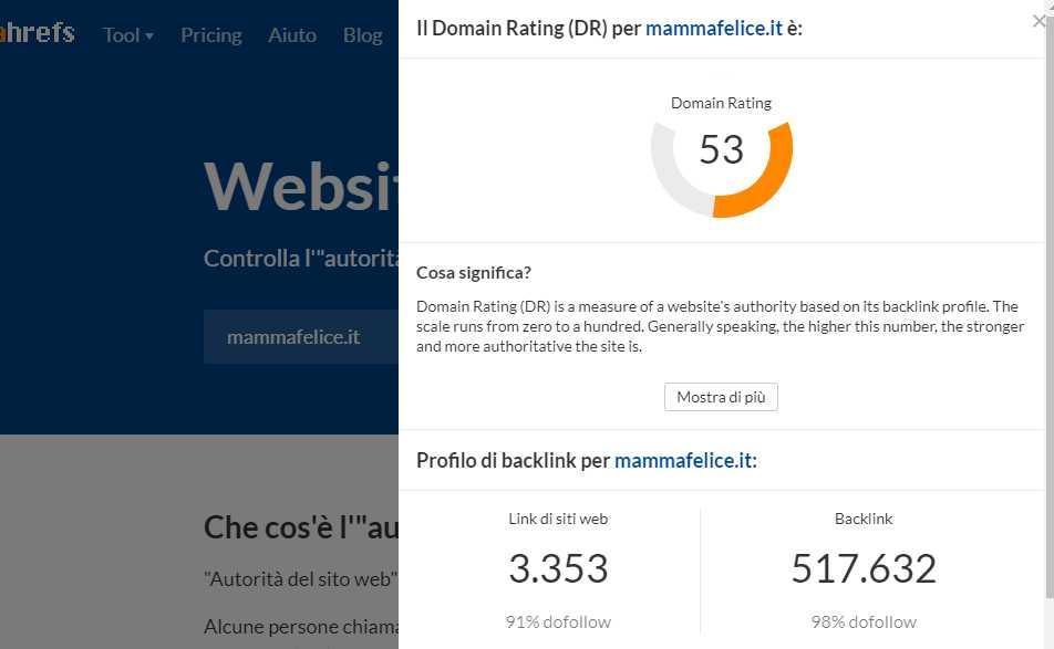 domain-authority-mammafelice